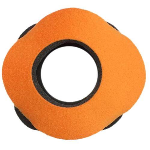 Bluestar Viewfinder Eyecushion - Blackmagic Special Use, Ultrasuede (Orange)