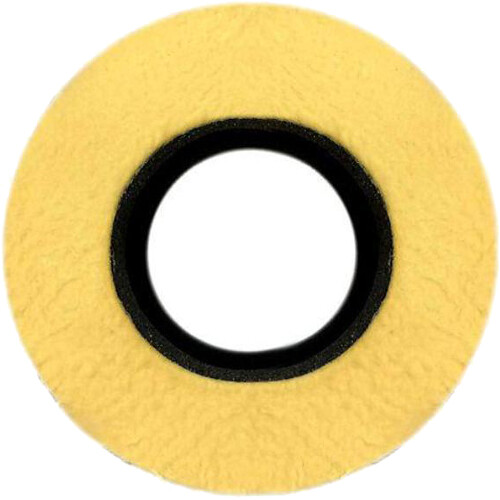 Bluestar Special Use Round Viewfinder Eyecushion for Blackmagic URSA (Genuine English Chamois, Natural)
