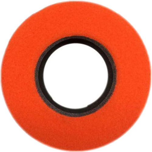 Bluestar Special Use Round Viewfinder Eyecushion for Blackmagic URSA (Fleece, Orange)