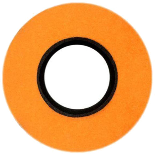 Bluestar Special Use Round Viewfinder Eyecushion for Blackmagic URSA (Ultrasuede, Orange)
