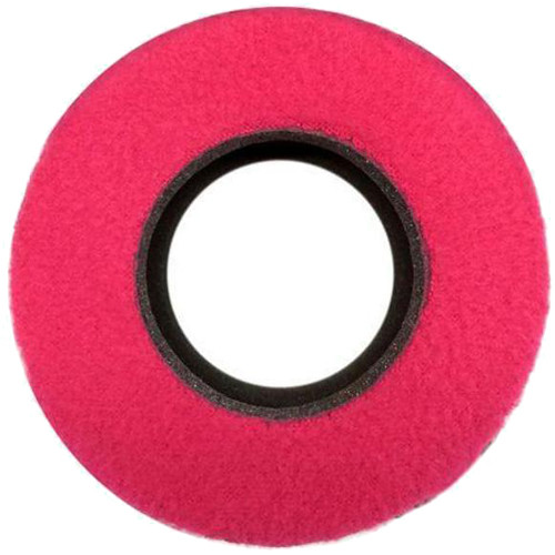 Bluestar Special Use Round Viewfinder Eyecushion for Blackmagic URSA (Ultrasuede, Pink)