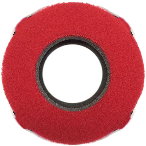 Bluestar Viewfinder Eyecushion - Red Cam Ultra, Fleece (Red)