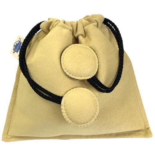 Bluestar Drawstring Bag - Ultrasuede (Natural)