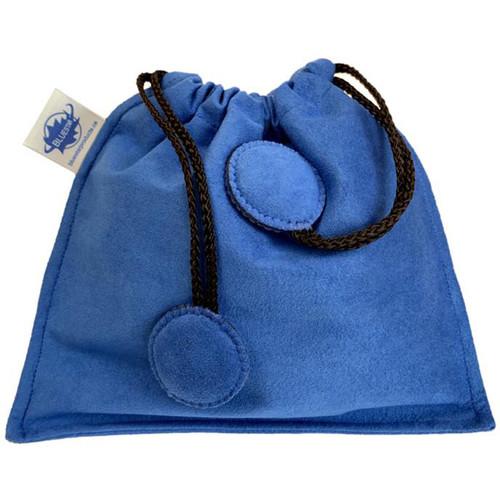 Bluestar Drawstring Bag - Ultrasuede (Blue)