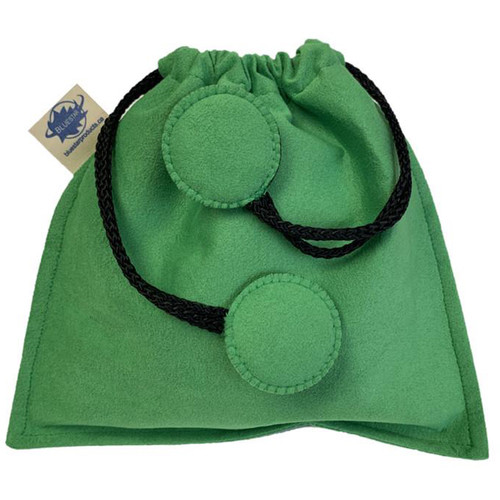 Bluestar Drawstring Bag - Ultrasuede (Green)