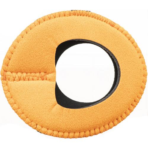 Bluestar Zacuto Oval Large Eyecushion (Orange Ultrasuede)