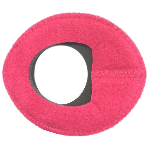 Bluestar Zacuto Oval Large Eyecushion (Pink Ultrasuede)