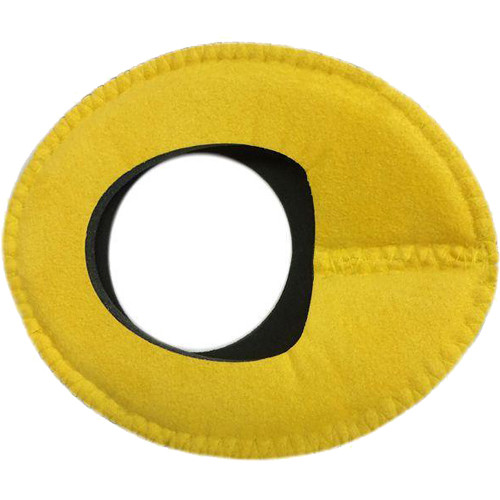 Bluestar Zacuto Oval Large Eyecushion (Yellow Ultrasuede)
