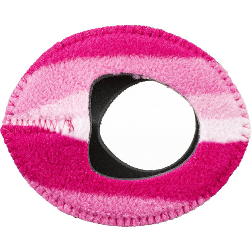 Bluestar Zacuto Oval Large Eyecushion (Candy Cane Fleece)