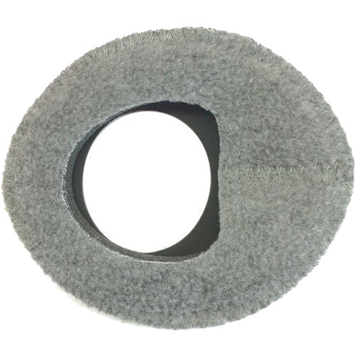 Bluestar Zacuto Oval Large Eyecushion (Fleece, Gray)