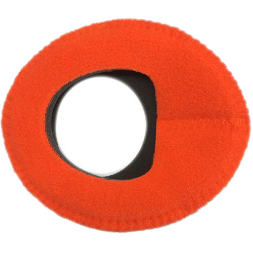 Bluestar Zacuto Oval Large Eyecushion (Orange Fleece)