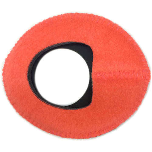 Bluestar Zacuto Oval Large Eyecushion (Peach Fleece)