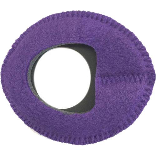 Bluestar Zacuto Oval Large Eyecushion (Fleece, Purple)