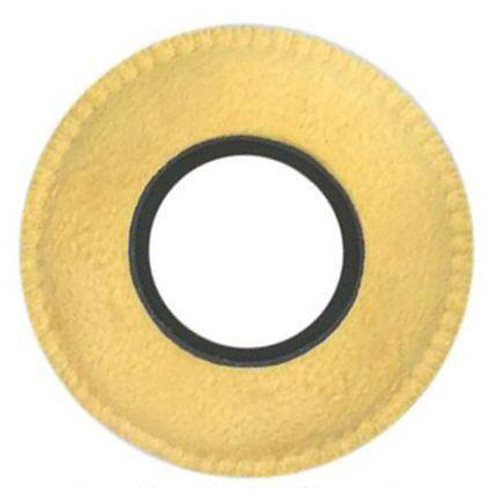 Bluestar RED CAM Round Viewfinder Eyecushion (Genuine English, Chamois)