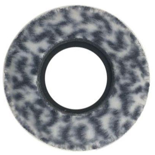 Bluestar RED CAM Round Viewfinder Eyecushion (Fleece, Snow Leopard)