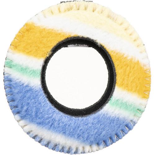 Bluestar RED CAM Round Viewfinder Eyecushion (Fleece, Candy Cane)