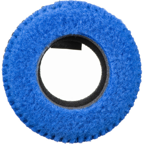 Bluestar RED CAM Round Viewfinder Eyecushion (Fleece, Blue)