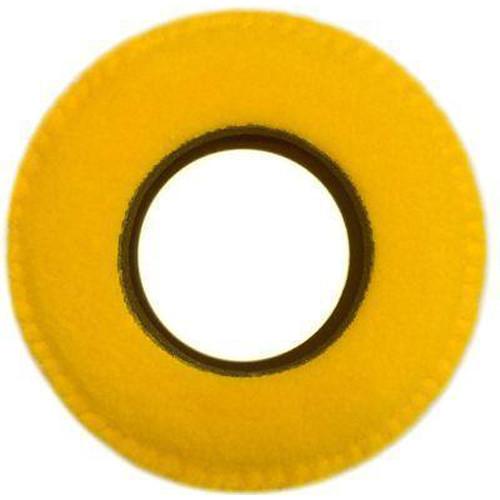 Bluestar RED CAM Round Viewfinder Eyecushion (Fleece, Yellow)