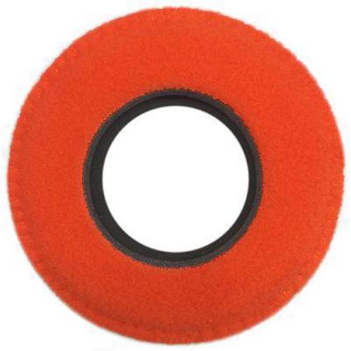 Bluestar RED CAM Round Viewfinder Eyecushion (Fleece, Orange)
