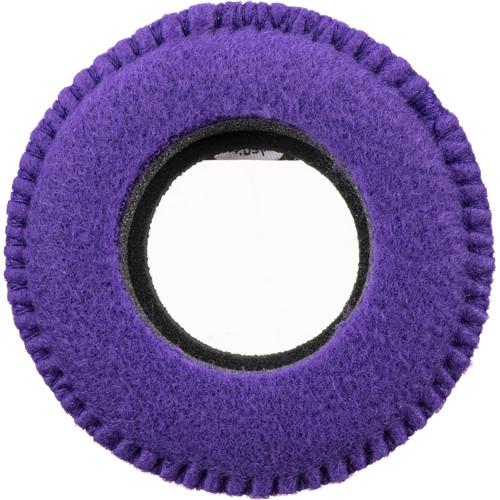 Bluestar Viewfinder Eyecushion -  Red Cam Round, Fleece (Purple)