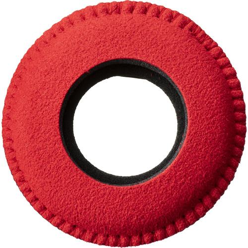 Bluestar RED CAM Round Viewfinder Eyecushion (Ultrasuede, Red)