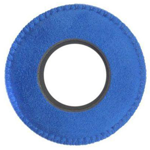 Bluestar RED CAM Round Viewfinder Eyecushion (Ultrasuede, Blue)