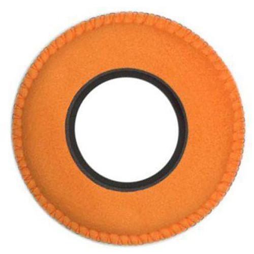 Bluestar RED CAM Round Viewfinder Eyecushion (Ultrasuede, Orange)