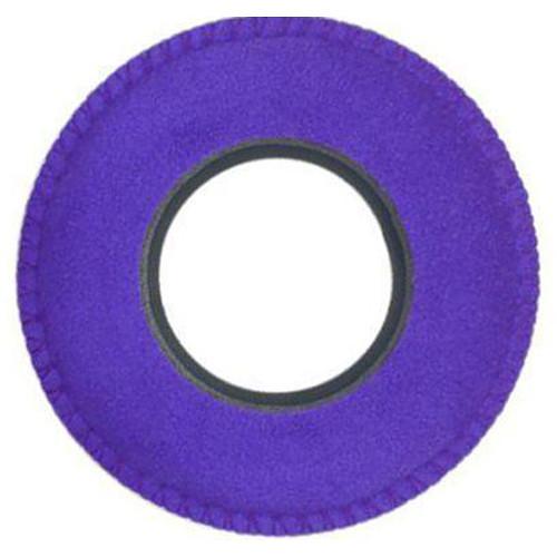 Bluestar Viewfinder Eyecushion -  Red Cam Round, Ultrasuede (Purple)