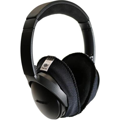 Bluestar CanSkins Earcup Covers for Bose QuietComfort 35 Headphones (Pair, Black)
