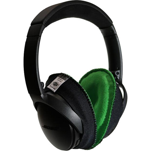 Bluestar CanSkins Earcup Covers for Bose QuietComfort 35 Headphones (Pair, Green)