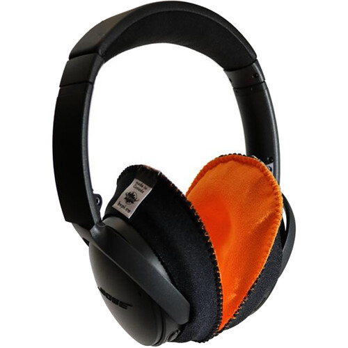 Bluestar CanSkins Earcup Covers for Bose QuietComfort 35 Headphones (Pair, Orange)