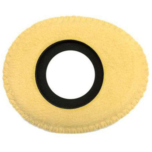 Bluestar Oval Ultra Small Viewfinder Eyecushion (Genuine English, Chamois)