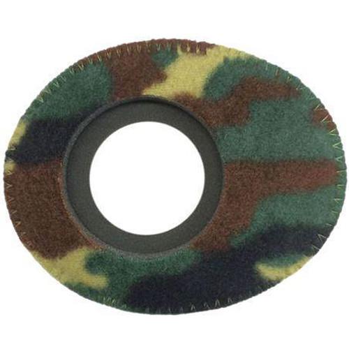 Bluestar Oval Ultra Small Viewfinder Eyecushion (Fleece, Camo)