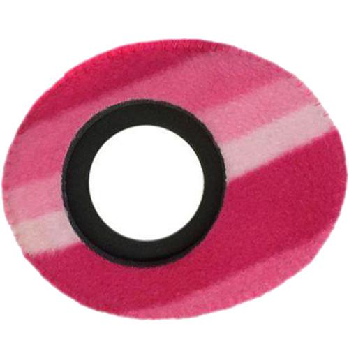 Bluestar Viewfinder Eyecushion -  Oval Ultra Small, Fleece (Candy Cane)