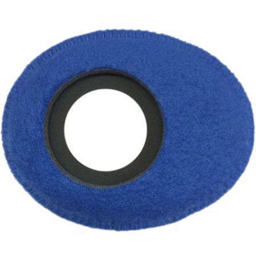 Bluestar Oval Ultra Small Viewfinder Eyecushion (Fleece, Blue)