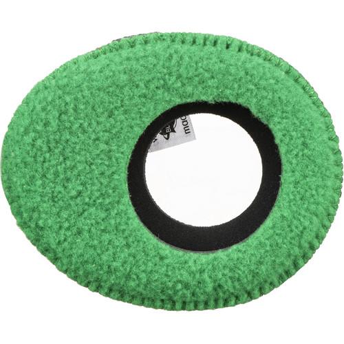 Bluestar Oval Ultra Small Viewfinder Eyecushion (Fleece, Green)