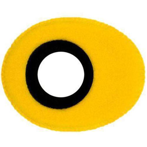 Bluestar Oval Ultra Small Viewfinder Eyecushion (Fleece, Yellow)