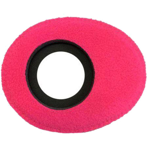 Bluestar Oval Ultra Small Viewfinder Eyecushion (Fleece, Pink)