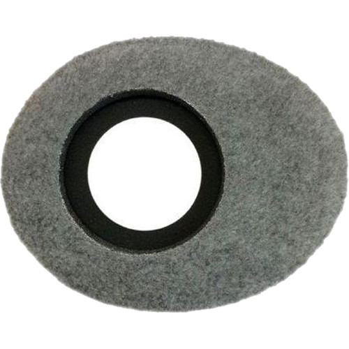 Bluestar Oval Ultra Small Viewfinder Eyecushion (Fleece, Gray)