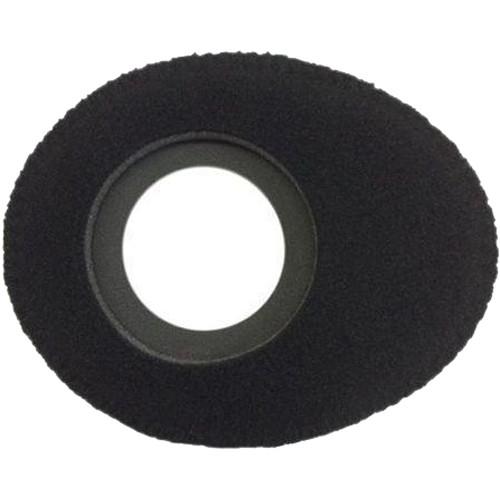 Bluestar Oval Ultra Small Viewfinder Eyecushion (Fleece, Black)