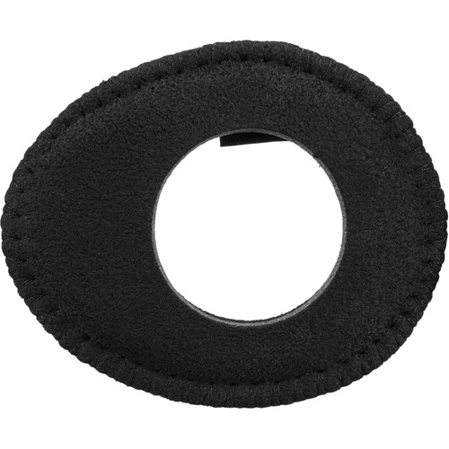 Bluestar Oval Ultra Small Viewfinder Eyecushion (Ultrasuede, Black)