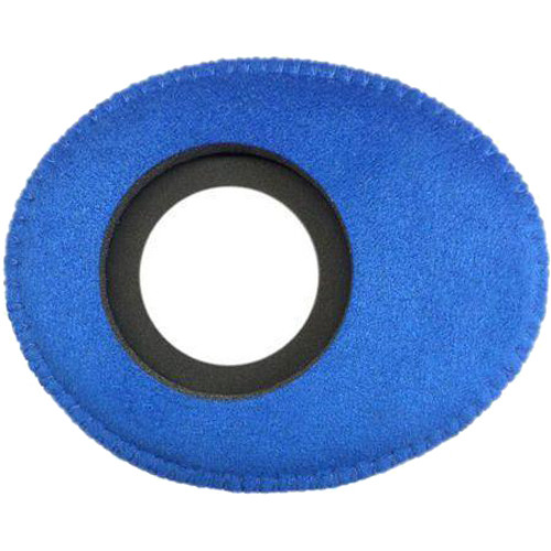 Bluestar Oval Ultra Small Viewfinder Eyecushion (Ultrasuede, Blue)