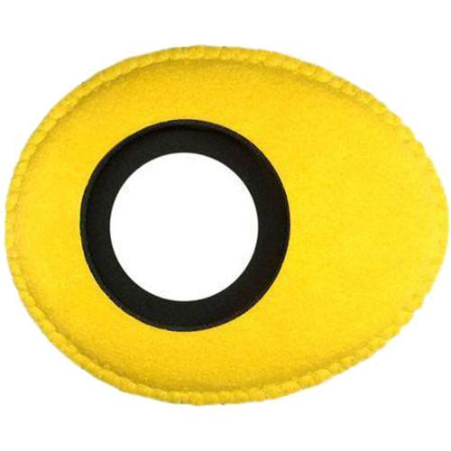 Bluestar Oval Ultra Small Viewfinder Eyecushion (Ultrasuede, Yellow)
