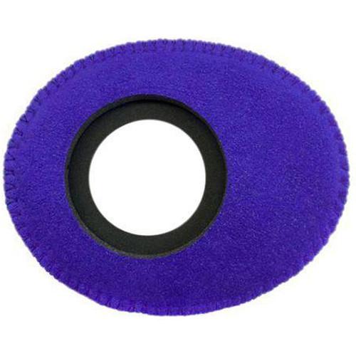 Bluestar Oval Ultra Small Viewfinder Eyecushion (Ultrasuede, Purple)