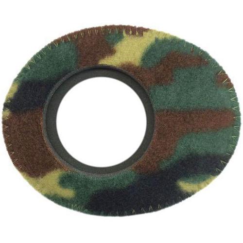Bluestar Viewfinder Eyecushion -  Oval Extra Small, Fleece (Camo)