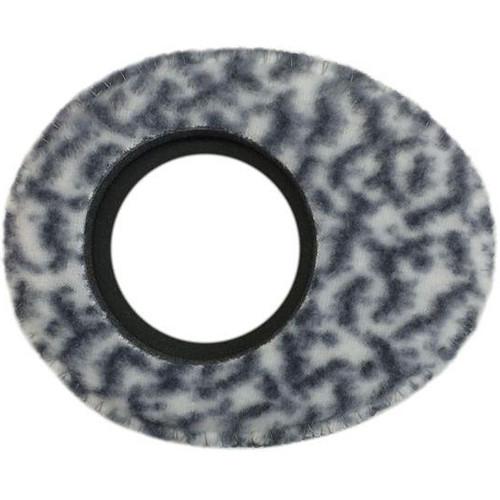 Bluestar Viewfinder Eyecushion -  Oval Extra Small, Fleece (Snow Leopard)