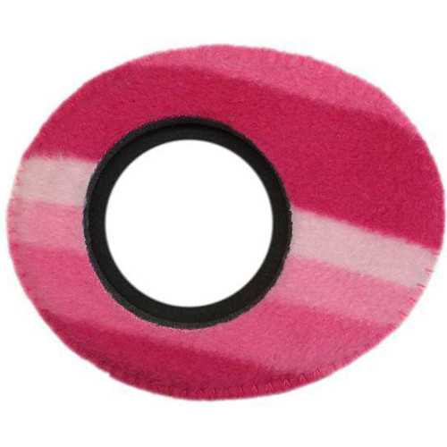 Bluestar Viewfinder Eyecushion -  Oval Extra Small, Fleece (Candy Cane)