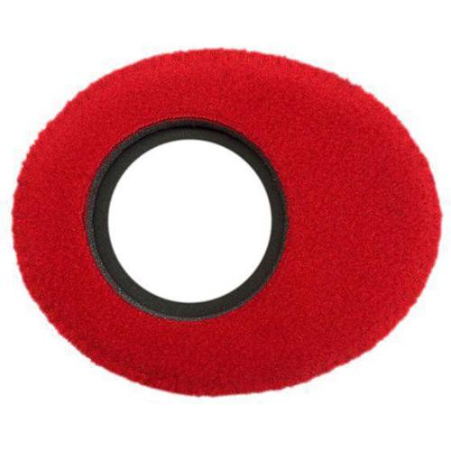 Bluestar Viewfinder Eyecushion -  Oval Extra Small, Fleece (Red)