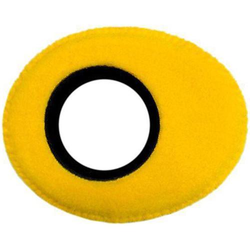 Bluestar Viewfinder Eyecushion -  Oval Extra Small, Fleece (Yellow)