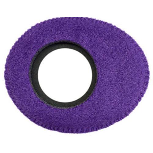Bluestar Viewfinder Eyecushion -  Oval Extra Small, Fleece (Purple)